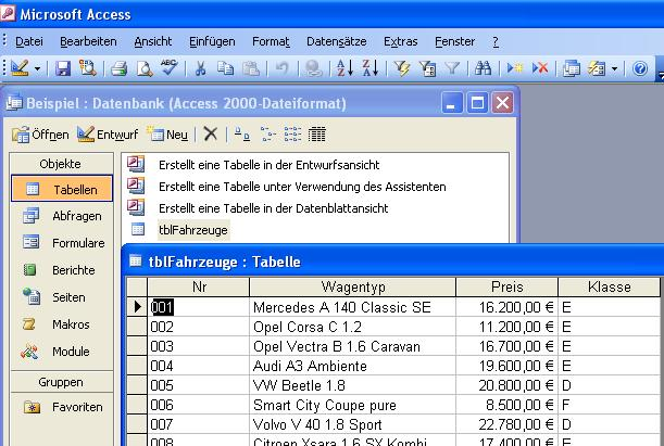 Access 2010 Datenbank Anlegen Youtube